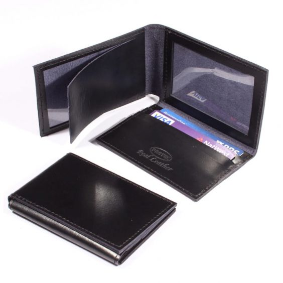 Protec Leather Warrant Card ID Holder Police and security